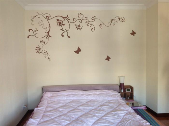 兰舍硅藻泥沙发背景墙图案