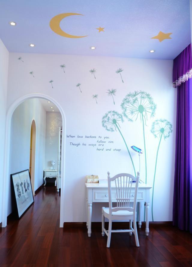 硅藻泥儿童卧室印花海洋动物图案