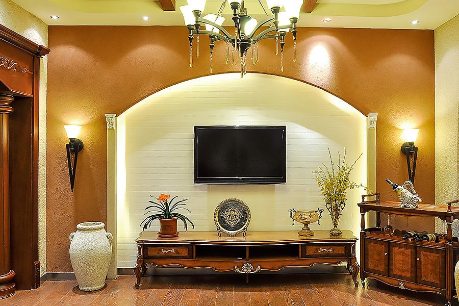 兰舍硅藻泥背景墙为家装整体加分!